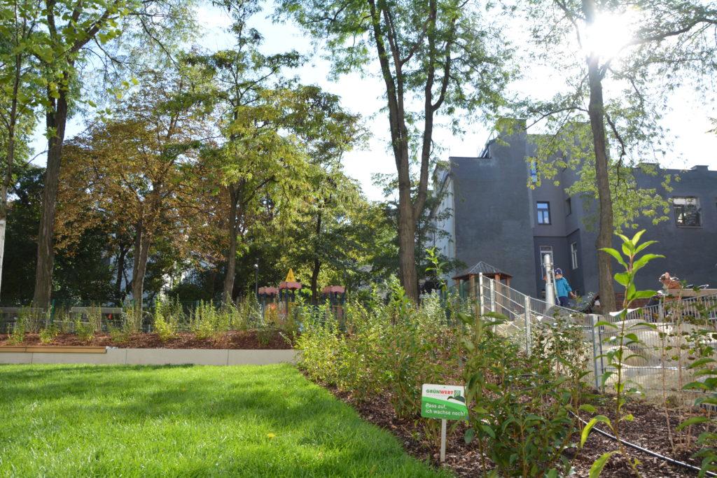 Josef Straußpark Umgestaltung abgeschlossen